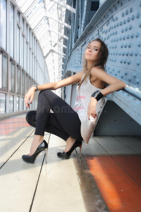 Menina 'sexy' imagens de stock