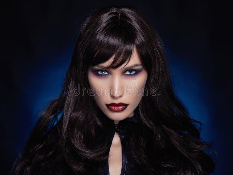 Menina 'sexy' de Halloween imagem de stock