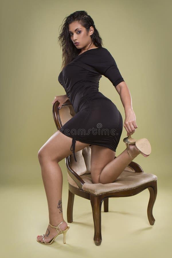 Menina 'sexy' do encanto foto de stock royalty free