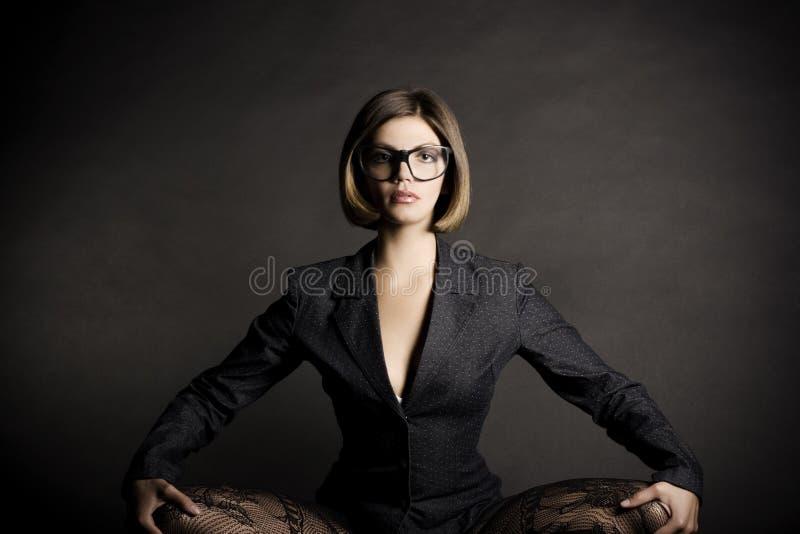 Menina 'sexy' do negócio imagens de stock royalty free