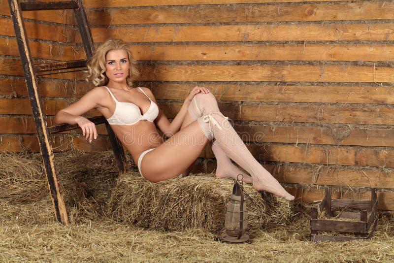 Menina 'sexy' nova fotografia de stock