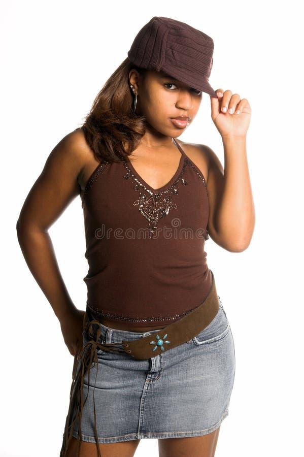 Menina urbana 'sexy' imagens de stock royalty free