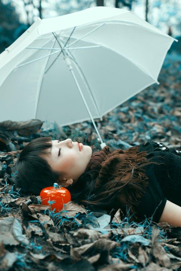 Meninas asiáticas fotografia de stock