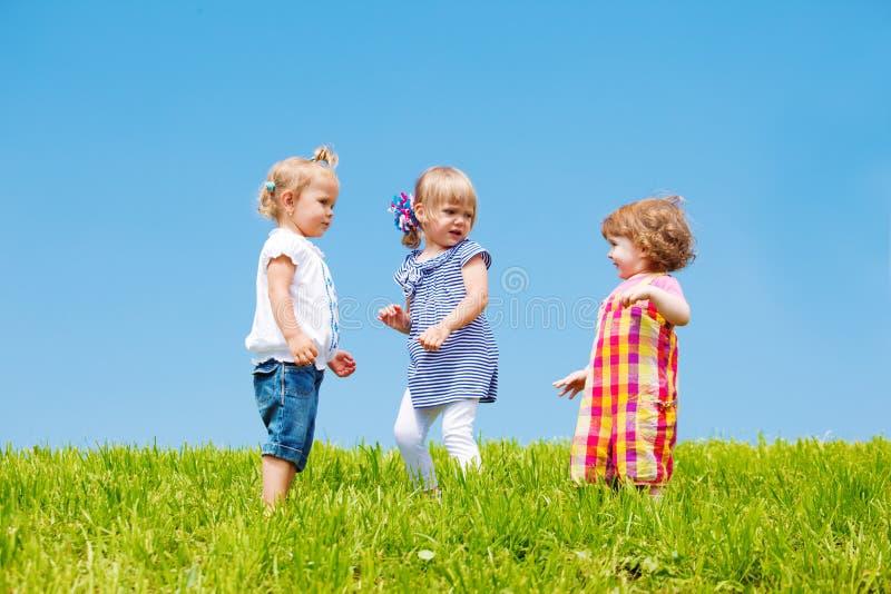 Meninas da criança imagem de stock