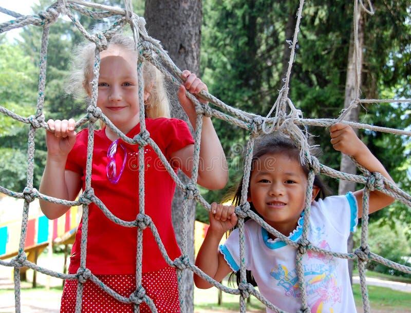 Meninas da infância imagem de stock royalty free