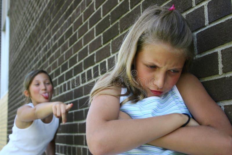 Meninas da luta imagens de stock