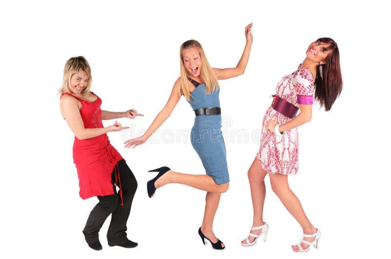 Meninas de dança imagens de stock royalty free