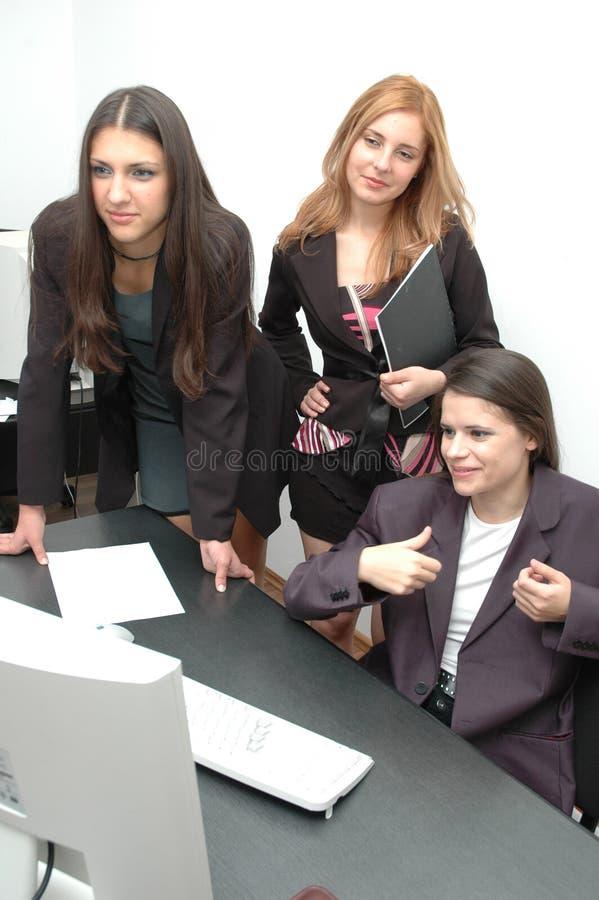 Meninas de escritório 9 fotos de stock
