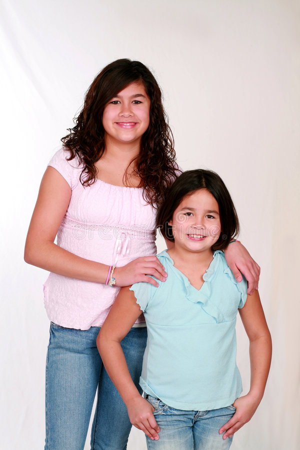 Meninas de Latina foto de stock