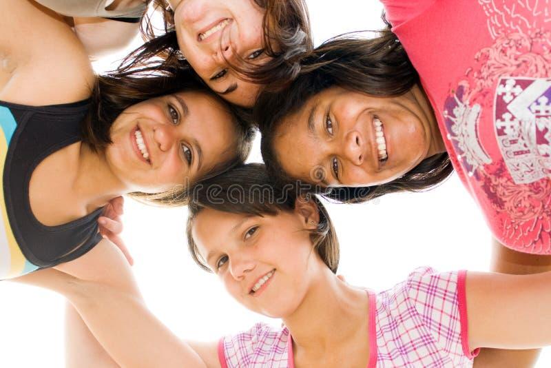 Meninas do adolescente fotografia de stock royalty free