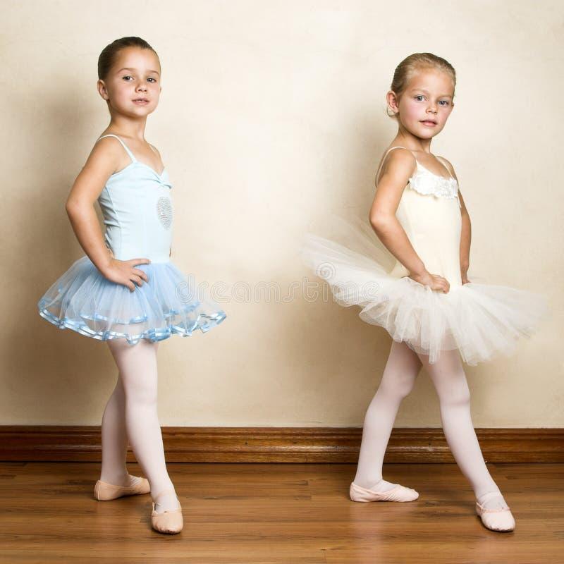 Meninas do bailado imagens de stock royalty free