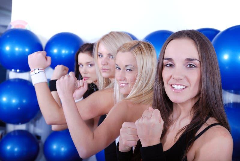 Meninas do lutador fotos de stock