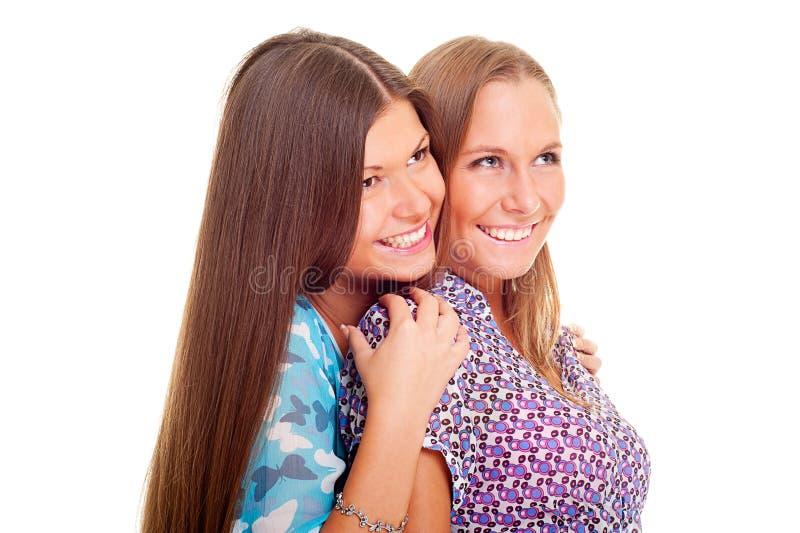 Meninas do smiley fotos de stock