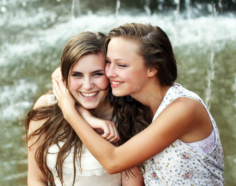 Meninas dos estudantes imagem de stock royalty free