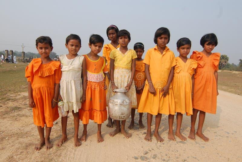 Meninas indianas imagem de stock royalty free