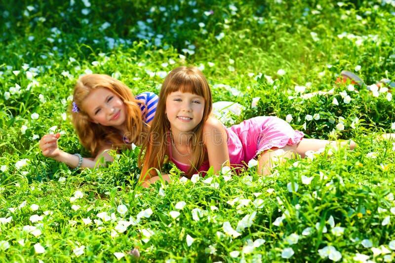 Meninas naturais imagens de stock