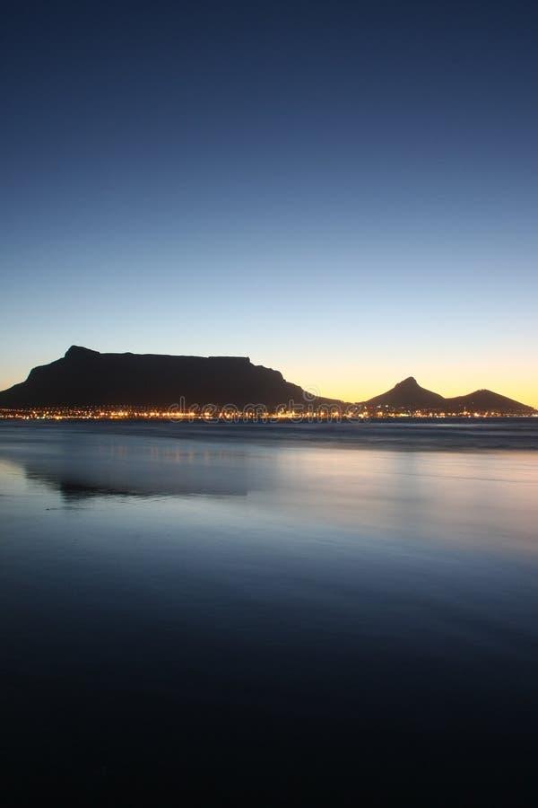 Mening 1 van Kaapstad stock foto