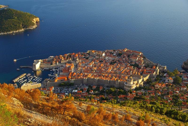 Mening 32 van Dubrovnik stock foto