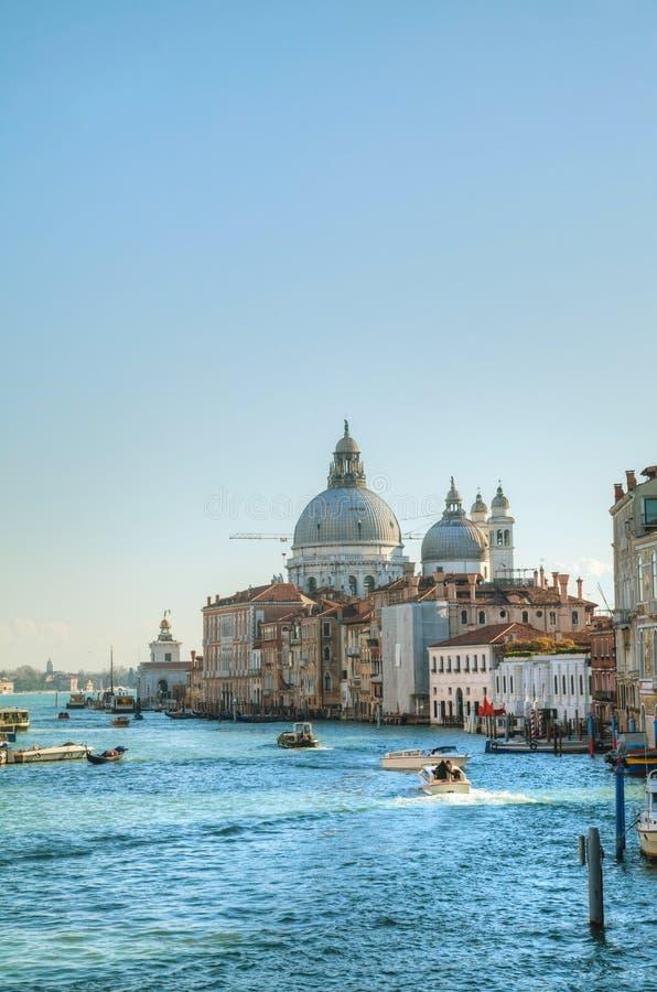 Mening aan dellaBegroeting van Di Santa Maria van de Basiliek in Venetië royalty-vrije stock foto