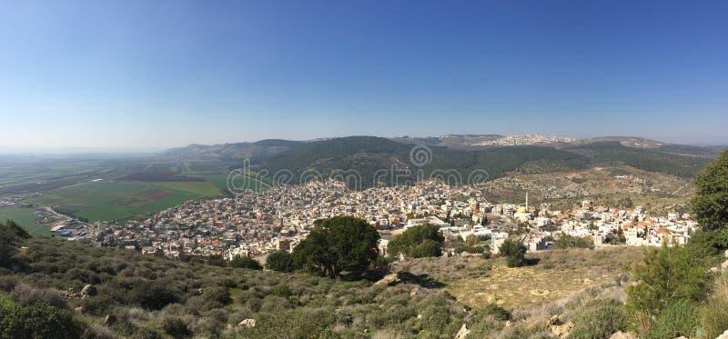 Mening aan Galilee israël royalty-vrije stock afbeeldingen