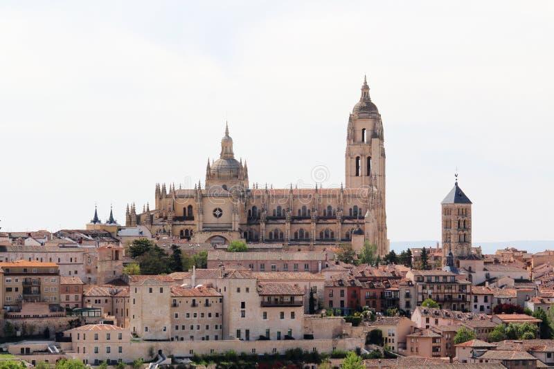 Mening aan het centrum van Segovia, Spanje