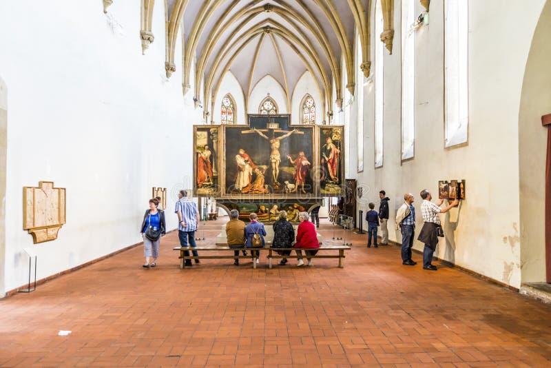 Mening aan het Isenheim-Altaarstuk royalty-vrije stock foto