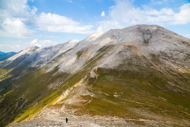 Mening aan het marmeren deel van Pirin-berg, Bulgarije royalty-vrije stock foto