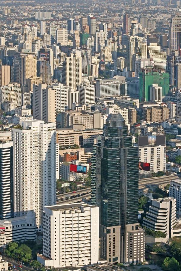 Mening over Bangkok royalty-vrije stock fotografie