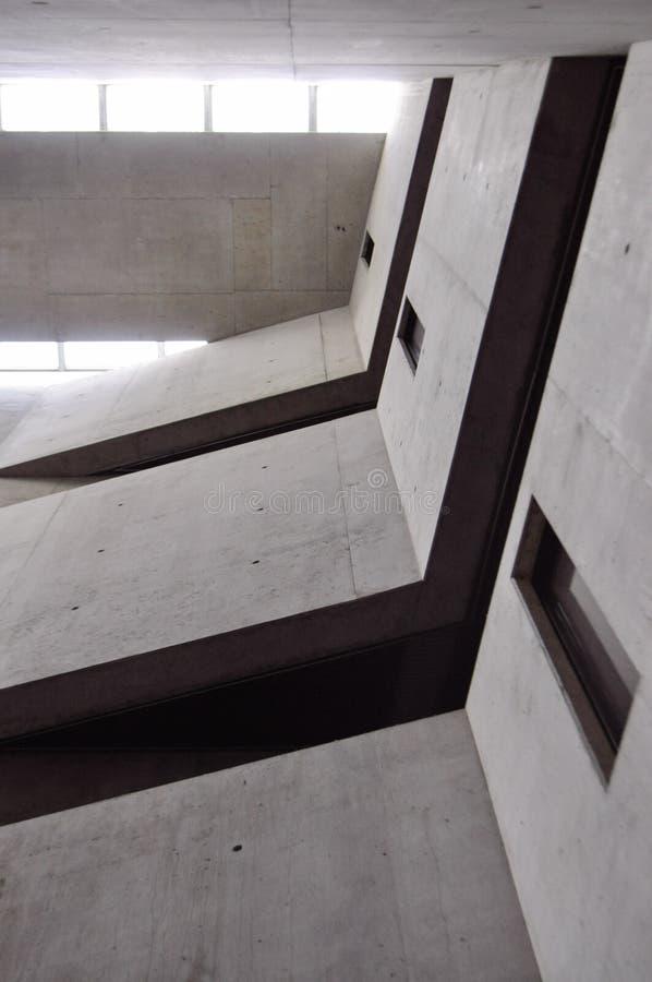 Mening over dak van Joods Museum Berlijn royalty-vrije stock foto