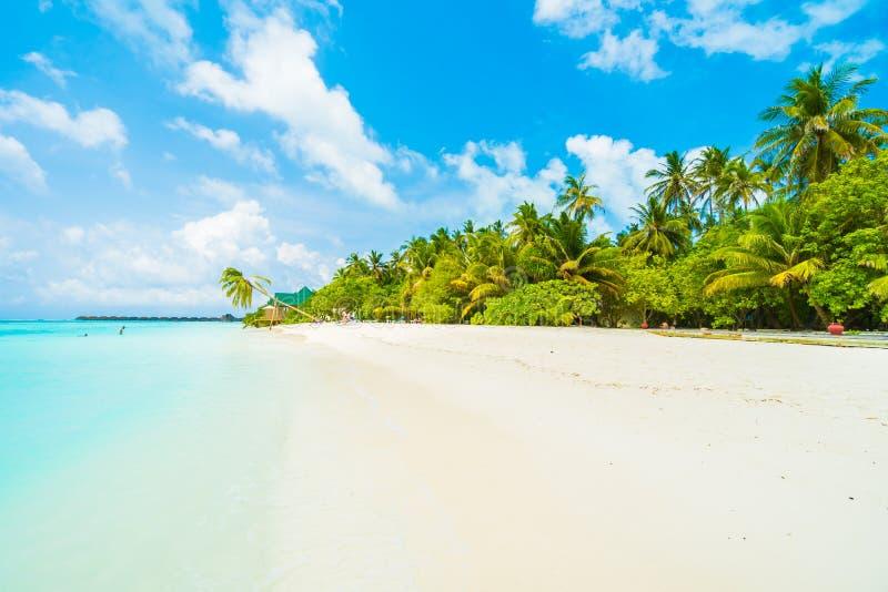 Mening over het Eiland van de Maldiven van vliegtuig royalty-vrije stock fotografie