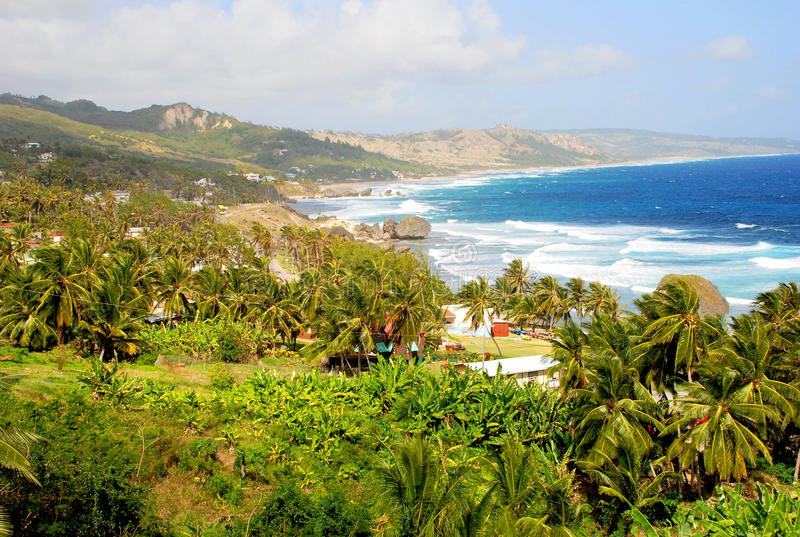 Mening van Barbados stock fotografie