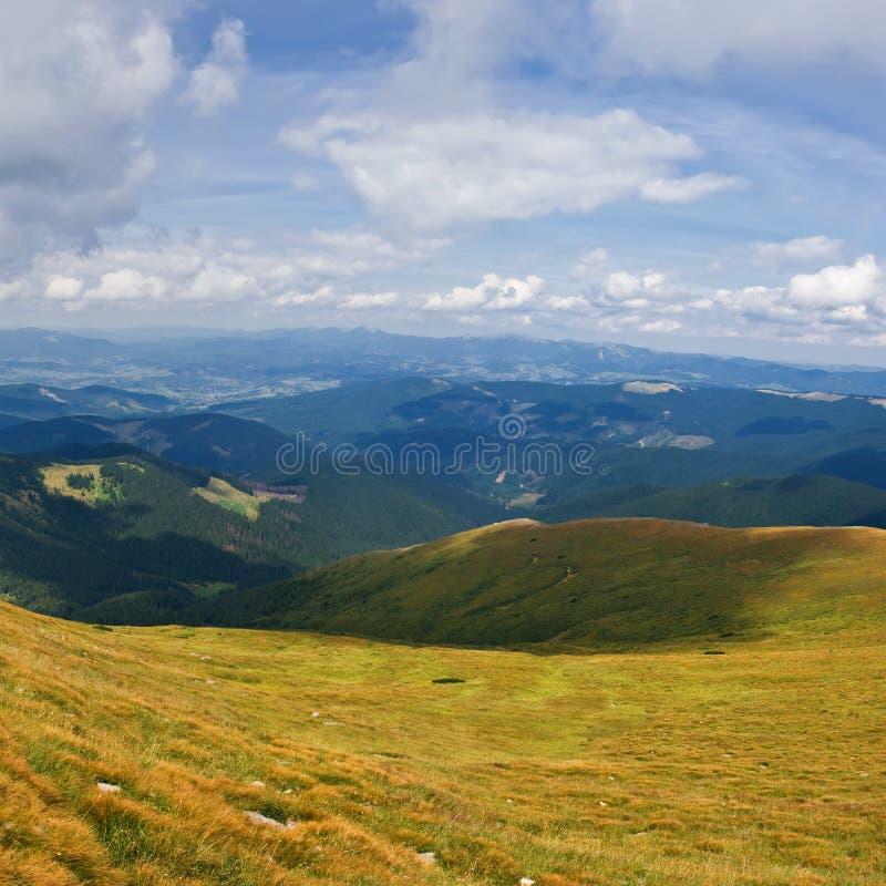 Download Mening van berg Karpaty stock foto. Afbeelding bestaande uit groen - 10778210