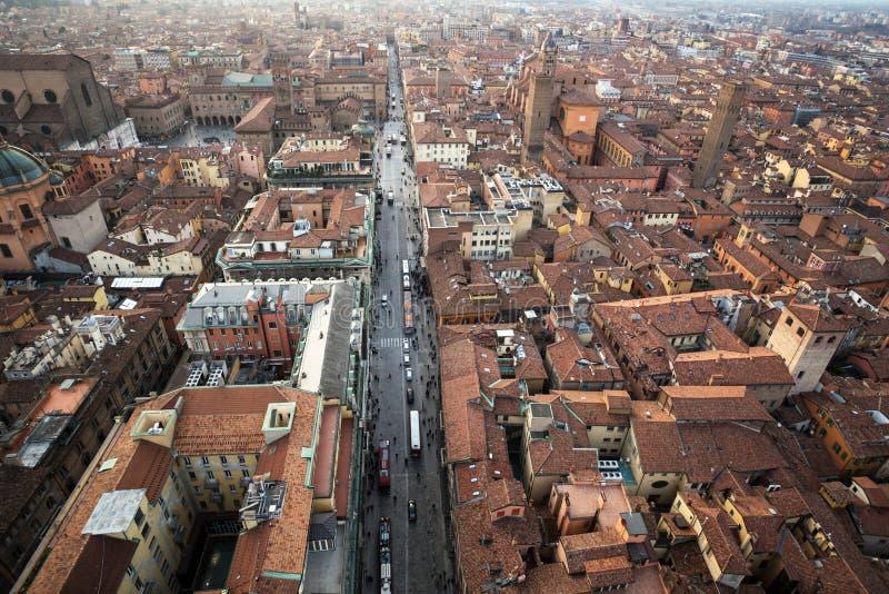 Mening van Bologna royalty-vrije stock afbeelding