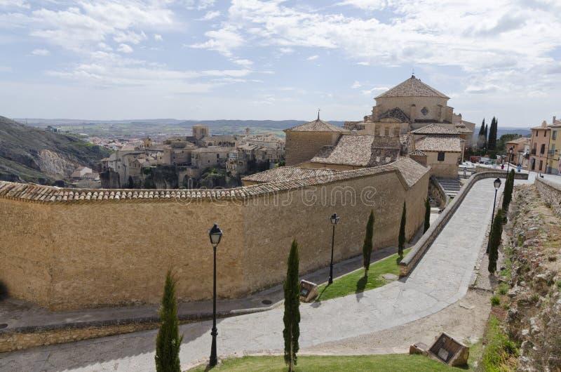 Mening van Cuenca royalty-vrije stock afbeelding