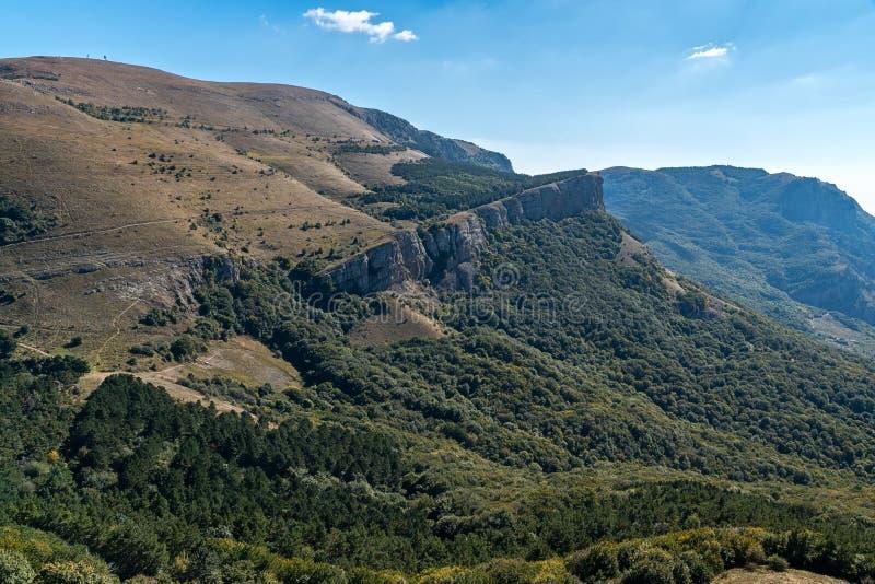 Mening van de berg Demerdzhi royalty-vrije stock afbeeldingen