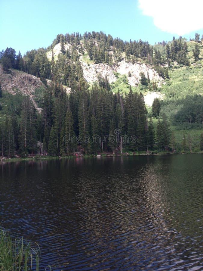 Mening van de Berg van Utah stock foto's
