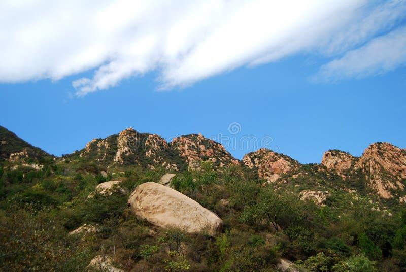 Mening van de bergvallei