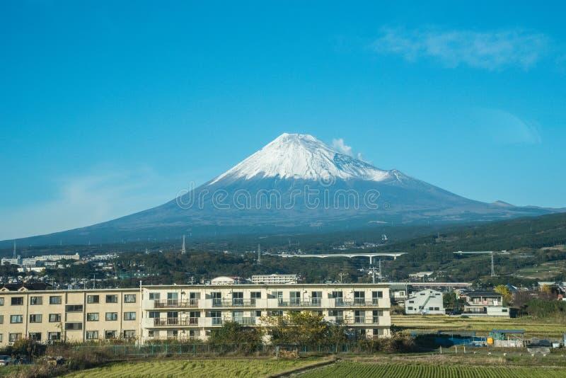Mening van de fujiberg in Japan royalty-vrije stock fotografie