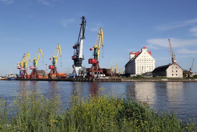 mening van de haven van de Juiste Dijk stock afbeeldingen