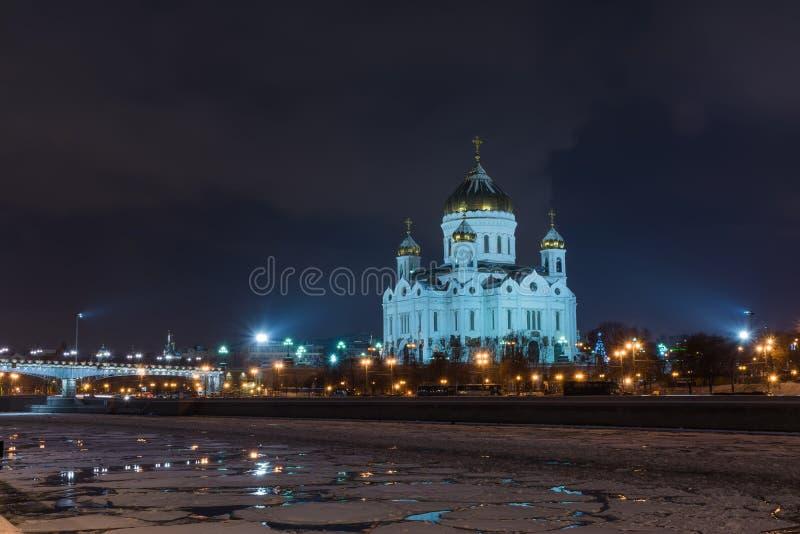 Mening van de Kathedraal van Christus de Verlosser royalty-vrije stock afbeeldingen