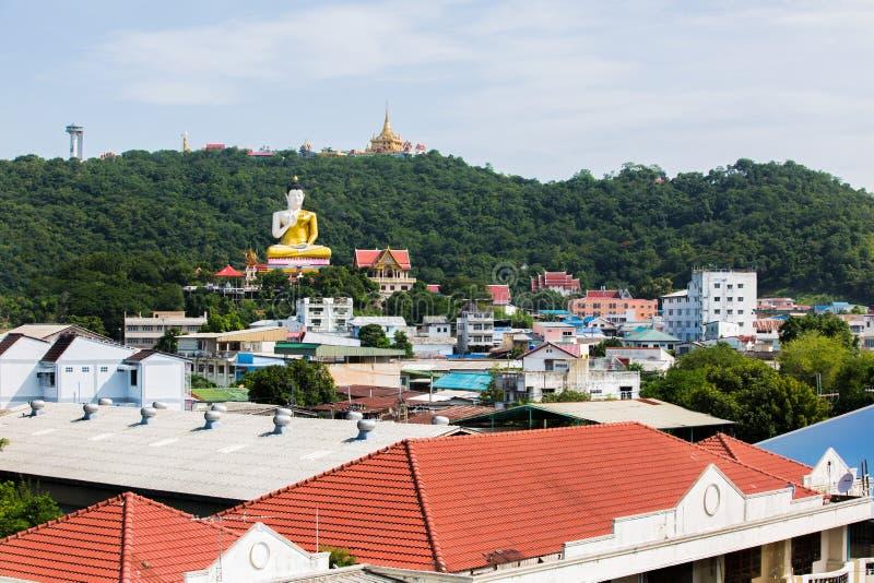 Mening van de Provincie van Nakhon Sawan, Kerewong, Thailand royalty-vrije stock fotografie