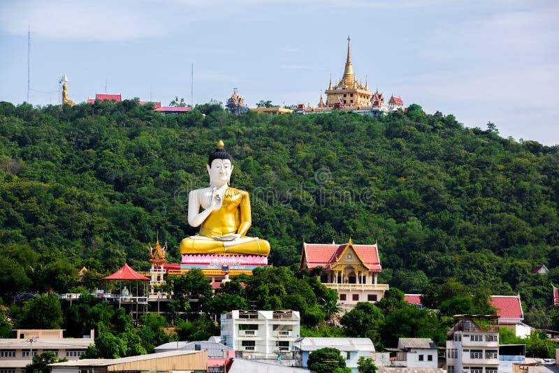Mening van de Provincie van Nakhon Sawan, Kerewong, Thailand stock foto's