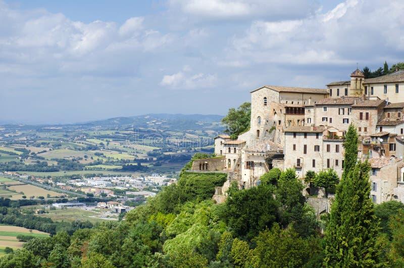 Mening van de stad van Orvieto royalty-vrije stock afbeeldingen