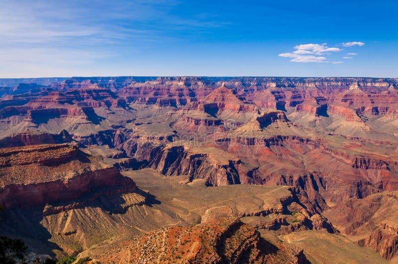 Mening van de Zuidelijke Rand van Grand Canyon ` s royalty-vrije stock afbeeldingen