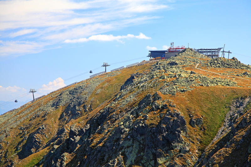 Mening van Derese - Lage Tatras, Slowakije royalty-vrije stock fotografie