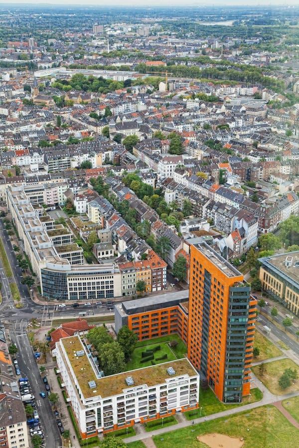 Mening van Dusseldorf royalty-vrije stock afbeelding