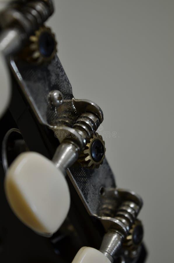 Mening van een gitaar royalty-vrije stock foto's
