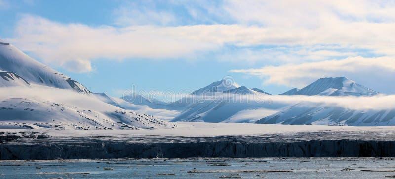 Mening van een Noordpoollandschap royalty-vrije stock foto's