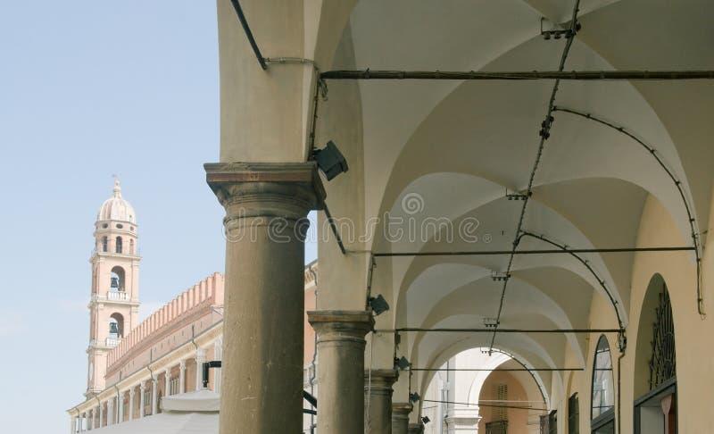 Mening van Faenza royalty-vrije stock afbeelding