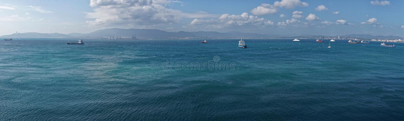 Mening van Gibraltar royalty-vrije stock foto
